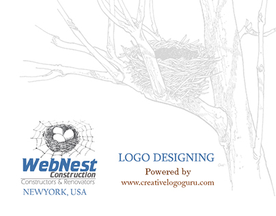 Logo Designing WebNest Construction NewYork, USA