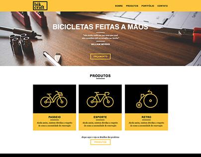 Bikcraft Website UI