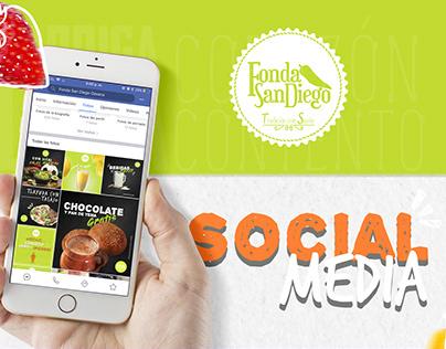 Social Media // Fonda San Diego