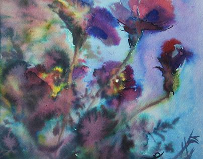 Watercolor/ Flowers