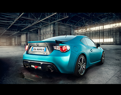 GT86 WRAPPING 3D