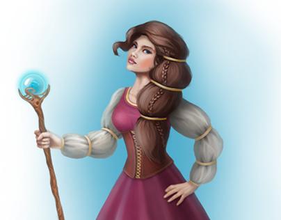 Characters (enchantress and rogue)