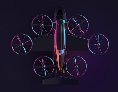 FUTURE MOBILITY UI – E-Scooter, Flight Taxi, Hyperloop