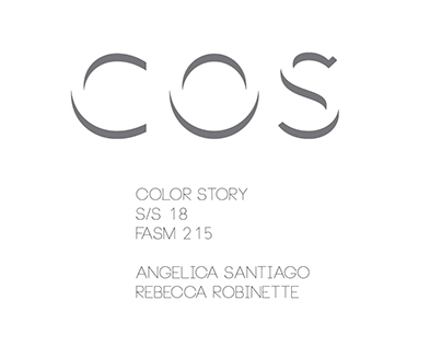 COS S/S18 COLOR STORY