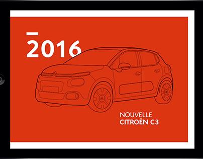 CITROËN C3 ANIMATION BROCHURE - Salon de l'Automobile
