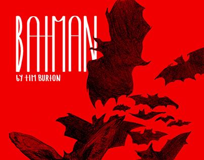 Posters for Tim Burton films