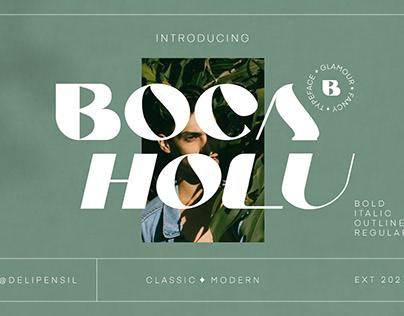 Boca - Botanical Elegant Serif Font