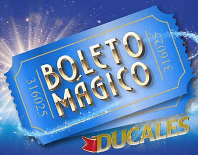 Boleto Magico Ducales