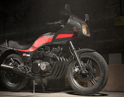 Kawasaki GPZ 550 (Full CGI)