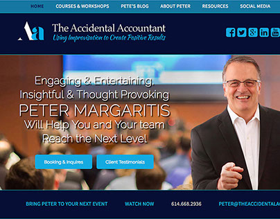 Peter Margaritis Website
