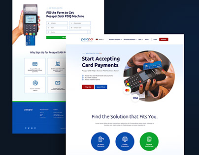 Fintech - Web Design