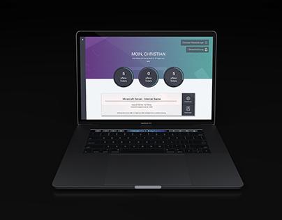 Webinterface Interface Design Test