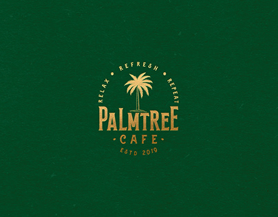 Palm Tree Cafe Branding