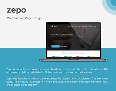 Zepo.in | Landing Page