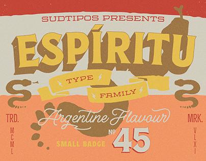 ESPIRITU Font Family