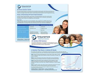 DF Insurance Solutions - Flyer