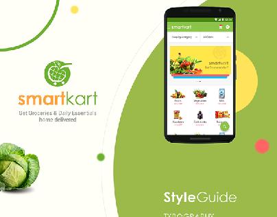 Smartkart | Grocery App Design