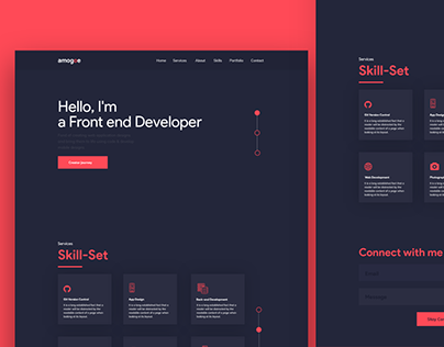 Developer Portfolio Design