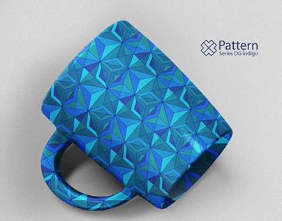 Pattern Series - DG índigo #06