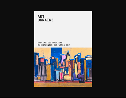 Ukrainian magazine - redesign