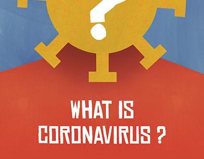 What Is Coronavirus ? Child Book 3-6 Age
