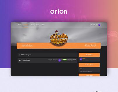 ORION XENFORO THEME - MINECRAFT