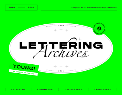 LETTERING Archives 2018-2021