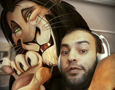 Me With Uncle Scar