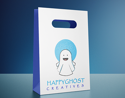 Happy Ghost Logo