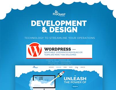 Responsive website design & development for ProQuest