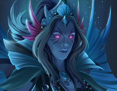 The Legend of the Abyss' Lady - Dota 2 Vengeful Spirit