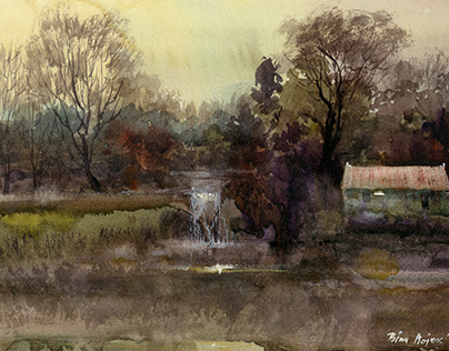 Watercolour-Landscapes