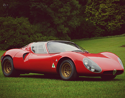 '67 Alfa 33 Stradale - Free Model