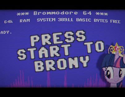 PRESS START To BRONY | Animators Collab