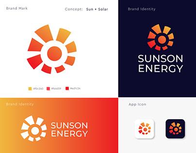 solar logo l energy l modern logo