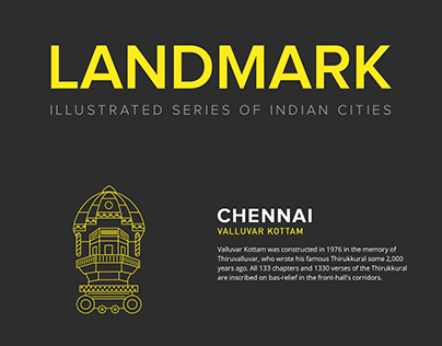 Landmark – Indian City Icons