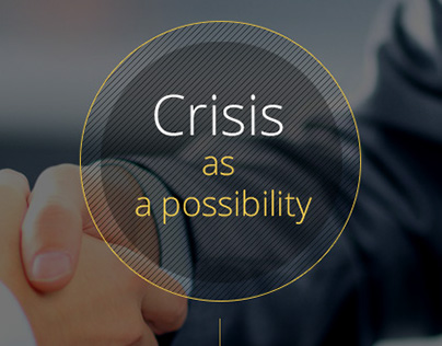 Training Crisis as a possibility: Landing page design