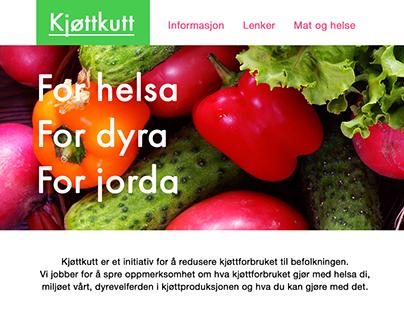 Kjøttkutt web design