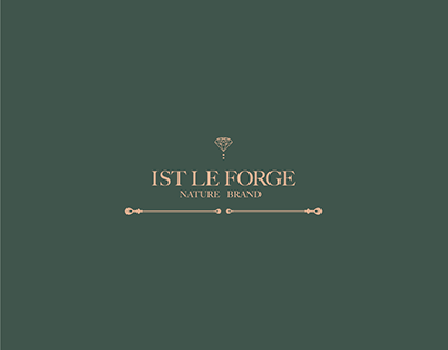 Ist Le Forge logo brand