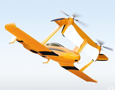 Drone taxi concept