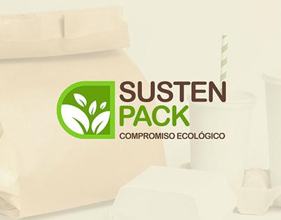 Sustenpack - Identidad corporativa y página web