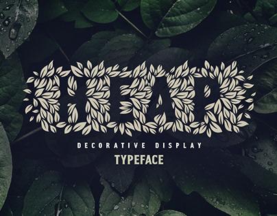 Heap — eco friendly organic font