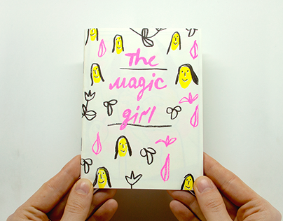 The magic girl
