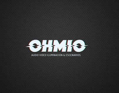 Ohmio Identidad de marca