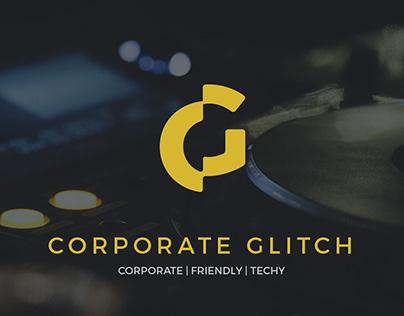 Free Font - Corporate Glitch