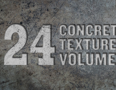 24 Concrete Textures Vol. 3