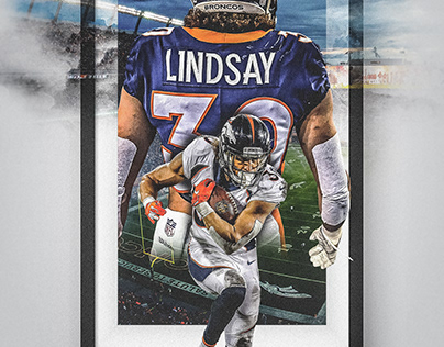 Philip Lindsay - Picture Perfect - Denver Broncos