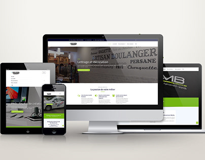 Site Internet Adhésif Mobil Concept