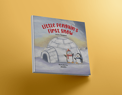 Little Penguin's First Snow by JNGRFN