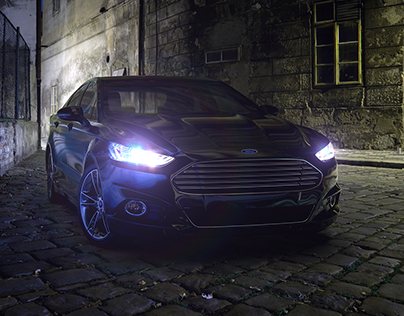Ford Fusion/Mondeo alley night